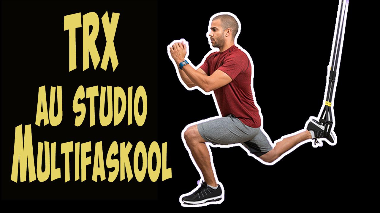 TRX au studio Multifaskool à Lyon