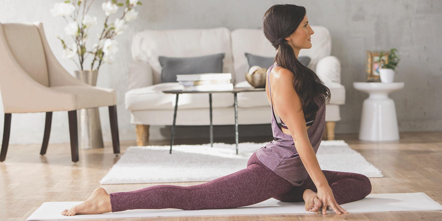 atelier pratique yoga à la maison