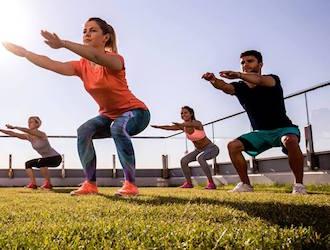 cours fitness en extérieur bootcamp