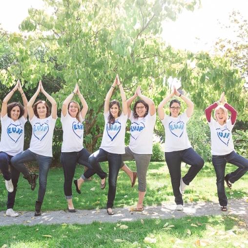evjf cours de yoga sur lyon