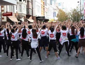 flashmob sur lyon